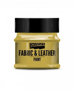 Fabric and leather paint 50ml - gold P34819