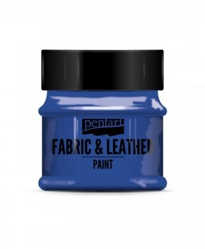 Fabric and leather paint 50ml - blue P34816
