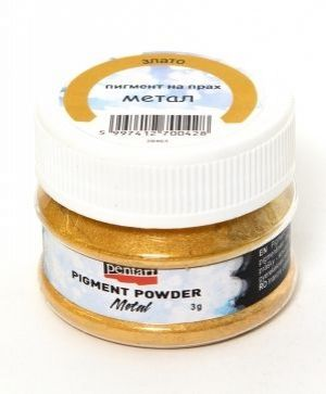 Effect pigment powder 5g - metallic gold P33644