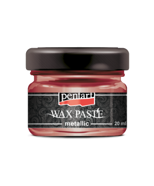 Wax paste metallic 20 ml - fire gold P35124