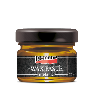 Wax paste metallic 20 ml - honey gold P35125
