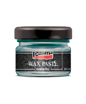 Wax paste metallic 20 ml - turtle green P35127