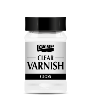 Clear varnish solvent-based 100 ml - glossy P35112