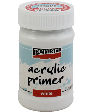 Acrylic primer - white 100 ml - P2493