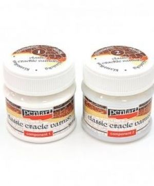 Crackle varnish 2 components 2x50ml - P2479