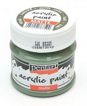 Acrylic paint matte 50 ml - khaki P13112