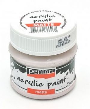 Acrylic paint matte 50 ml - country rose P4395