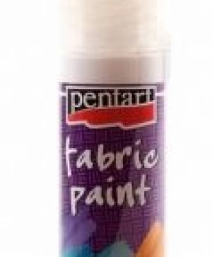 Fabric paint 20ml - white P1868