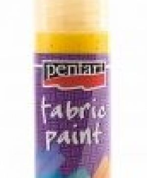 Fabric paint 20ml - yellow P1866