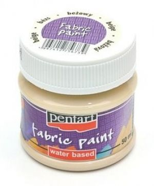Fabric paint  50ml - beige P3469