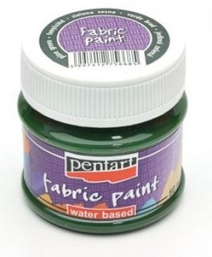 Fabric paint  50ml - pine green P3472