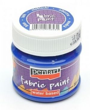 Fabric paint  50ml - blue P3475