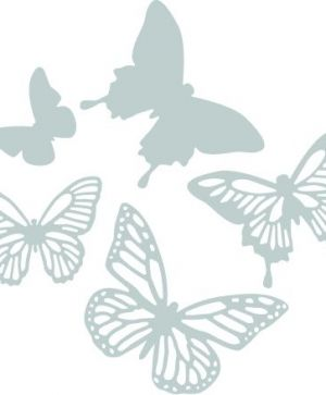 Sizzix Thinlits Die Set 5PK - Butterflies0662607