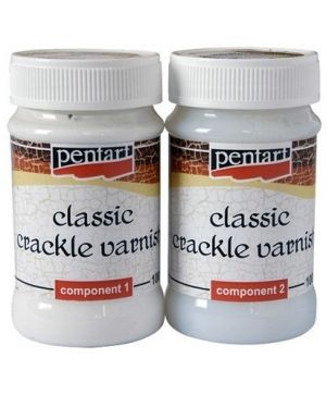 Crackle varnish 2 components 2x100ml - P2480
