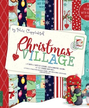 Helz Cuppleditch Christmas Village 12x12 Paper Pad - HZPAP001X18