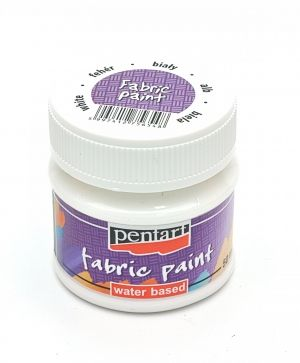Fabric paint  50ml -white P3470