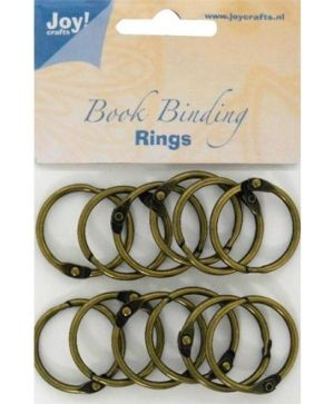 Bookbinders rings 30mm 12pc - 6200-0132