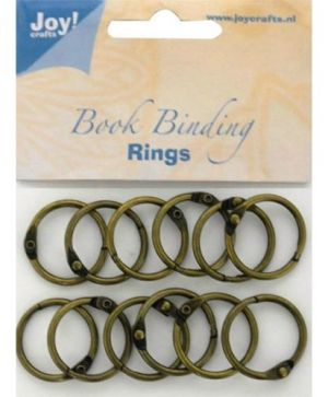 Bookbinders rings 25mm 12pc - 6200-0131
