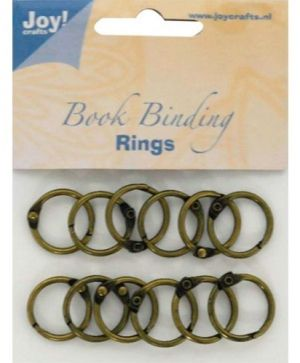 Bookbinders rings 20mm 12pc - 6200-0130