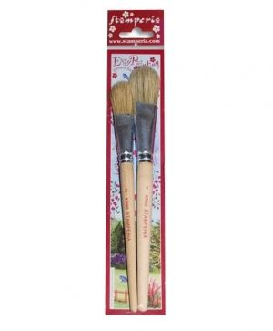Set 2 brushes size N2, N4 - KR86