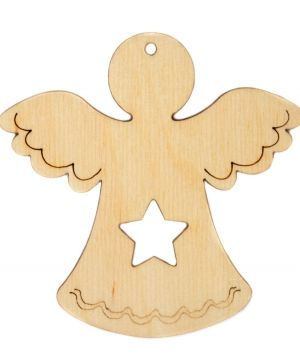 Wooden Christmas figurine - Angel IDEA1767