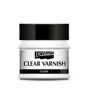 Clear varnish solvent-based 50 ml - glossy P35111