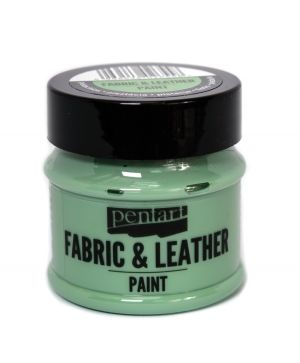 Fabric and leather paint 50ml - pistachio P35135