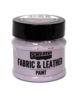 Fabric and leather paint 50ml - vintage purple P35131