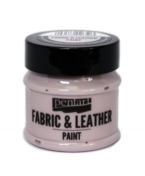 Fabric and leather paint 50ml - Victorian pink P35130