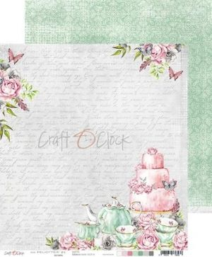 Double-sided Paper 12x12 - FELICI'TEA' - 01 CC-PD-FT-19-01