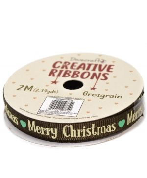 Dovecraft Christmas Ribbon - Traditional DCRBB023X18-7