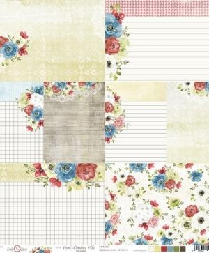 Double-sided Paper 12x12 - Mom's Garden - 06 CC-PD-MG-08-06