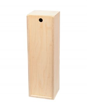 Wooden box for wine bottle - IDEA0916