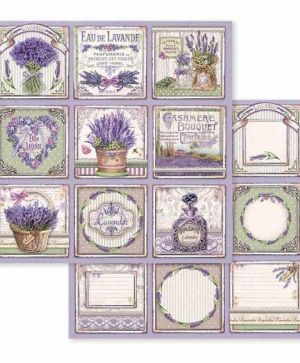 "Double face scrap paper 12""x12"" - Provence cards SBB593"