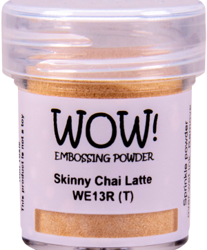 Embossing powder 15ml - Skinny Chai Latte WE13R