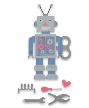 Sizzix Thinlits Die Set - Robot 663315