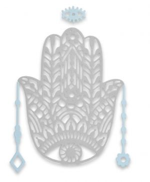 Sizzix Thinlits Die Set - Hand Charm 663367