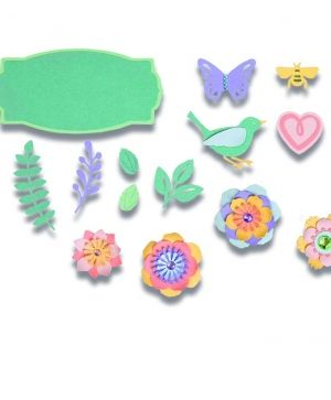 Sizzix Thinlits Die Set - Spring Things 663583
