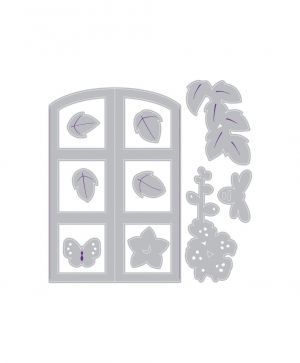 Sizzix Impresslits Embossing Folder - Window Box 663585