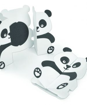 Sizzix Thinlits Die Set - Card, Panda Fold-a-Long 663574