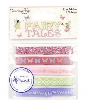 Ribbons textile Fairy Tales 5x1m - DCRBN038