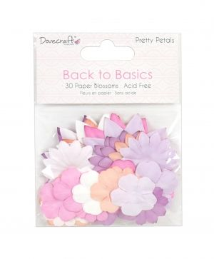 Dovecraft Paper Blossoms (30pcs) Pretty Petals - DCFLW026