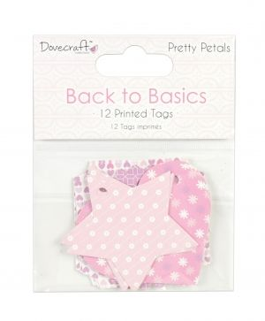 Tags 12 pcs - Pretty Petals DCTOP129