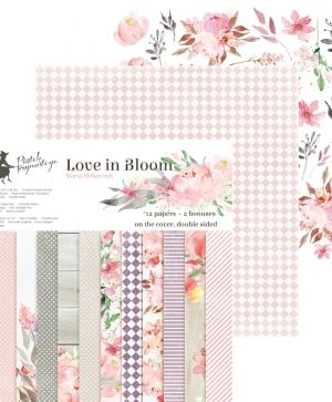 "Paper Pad 12""x12"" - Love in Bloom P13-252"