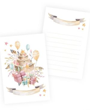 Set of cards 10x15cm, 10pcs - Cute & Co. Girl P13-238