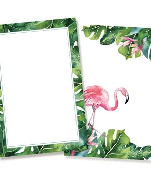 Set of cards 10x15cm, 10pcs - Let's flamingle P13-289