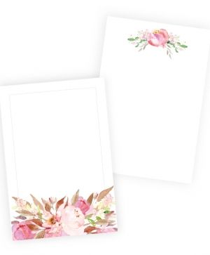 Set of cards 10x15cm, 10pcs - Love in Bloom P13-266
