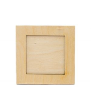 Wooden collage frame 10x10cm - IDEA0117