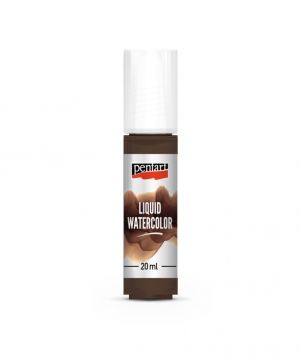 Liquid watercolor 20ml - brown P36066