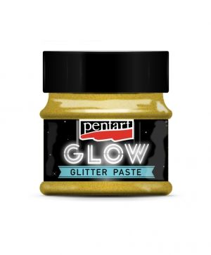 Glow glitter gel 50 ml - gold P36086
